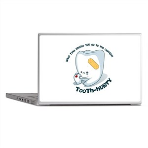 Tooth-Hurty - Dark Text Laptop Skins