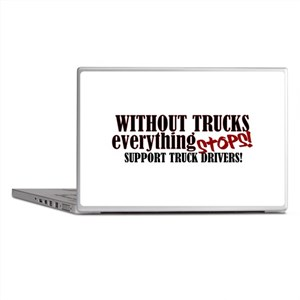 Trucker Support Laptop Skins