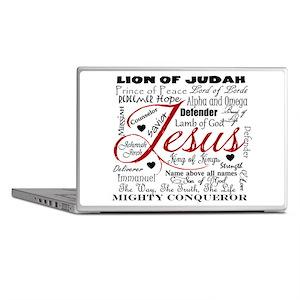 The Name of Jesus Laptop Skins