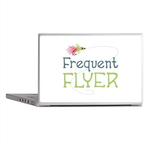 Frequent Flyer Laptop Skins