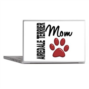 Airedale Terrier Mom 2 Laptop Skins