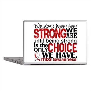 MDS How Strong We Are Laptop Skins