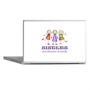 Sisters Laptop Skins