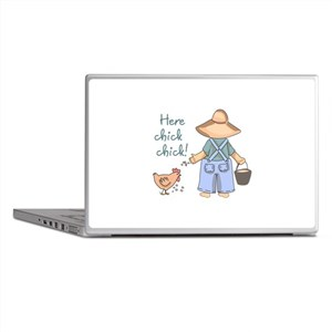Here Chick Chick! Laptop Skins