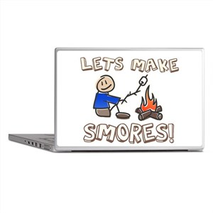 Lets Make SMORES! Laptop Skins