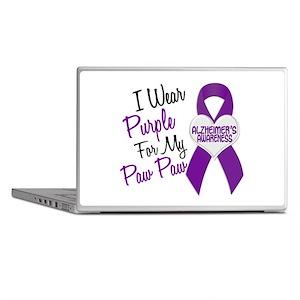I Wear Purple 18 Alzheimers Laptop Skins