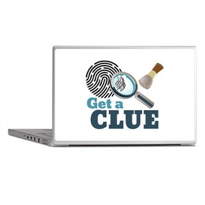 Get A Clue Laptop Skins