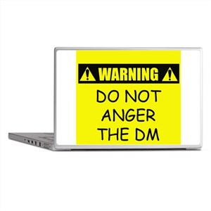 Do Not Anger The DM Laptop Skins