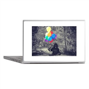 ape balloons Laptop Skins