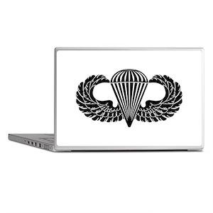 Parachutist -- B-W Laptop Skins