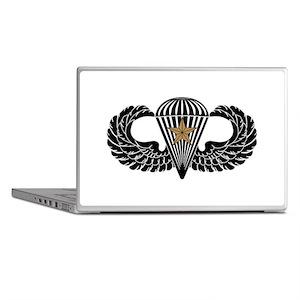 Combat Parachutist 1st -- B-W Laptop Skins