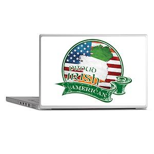 Proud Irish American Laptop Skins