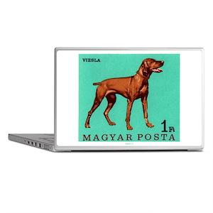 1967 Hungary Vizsla Dog Postage Stamp Laptop Skins