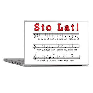 Sto Lat! Song Laptop Skins
