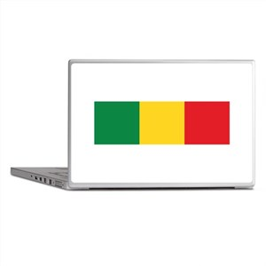 Green, Gold and Red Flag Laptop Skins