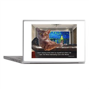 Most Interesting Cat Laptop Skins