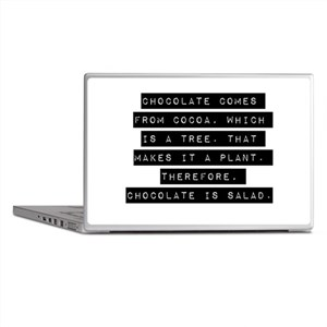 Chocolate Comes From Cocoa Laptop Skins