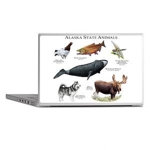 Alaska State Animals Laptop Skins