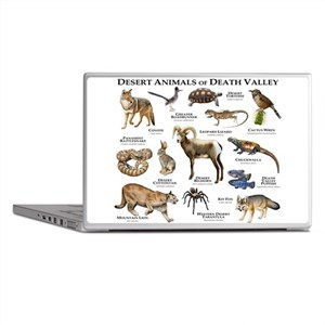 Animals of Death Valley Laptop Skins