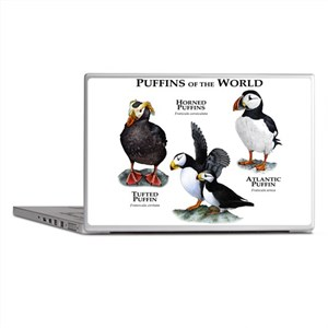 Puffins of the World Laptop Skins