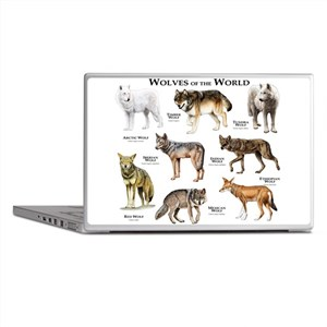 Wolves of the World Laptop Skins