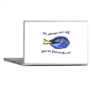 WE FIND OUR SELF Laptop Skins
