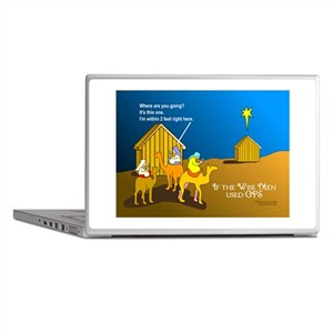 Wise Men Christmas Laptop Skins