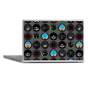 Flight Instruments Laptop Skins