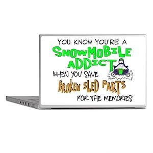 Sled Parts Memories Laptop Skins