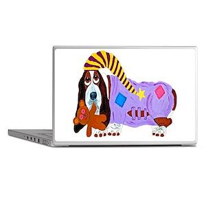 Basset Hound Bedtime Laptop Skins