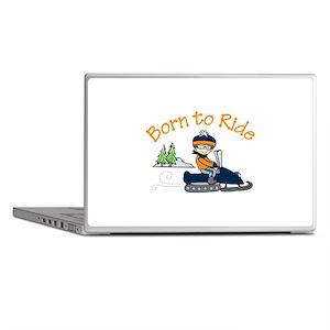 Born to Ride Laptop Skins