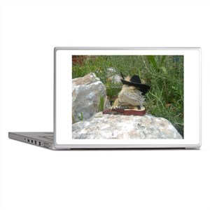 Musician Spiny the Lizard Laptop Skins