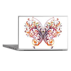 Scroll Butterfly Laptop Skins