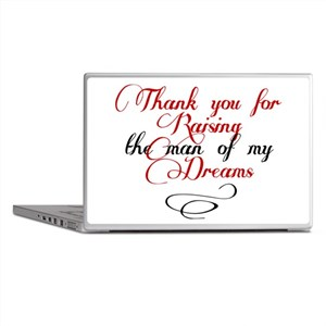 Man of my dreams Mother in law Laptop Skins