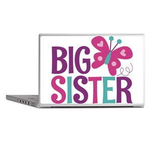 Butterfly Big Sister Laptop Skins