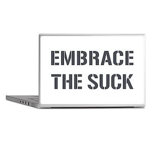 EMBRACE THE SUCK Laptop Skins