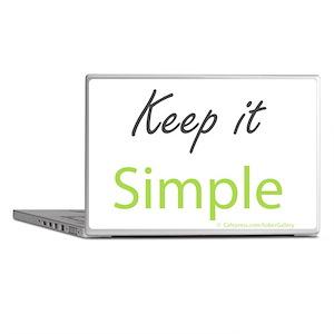 Keep it Simple Laptop Skins