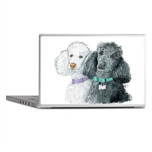 Two Poodles Laptop Skins