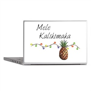 Mele Kalikimaka - Hawaiian Christmas Laptop Skins