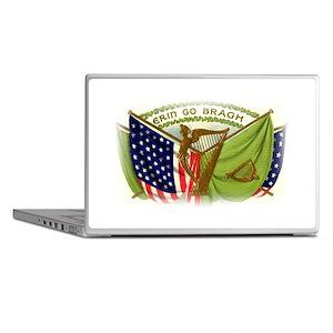 Erin Go Bragh Irish Flags Laptop Skins
