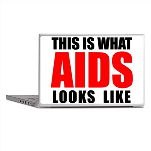 What AIDS looks like Laptop Skins