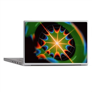 Magnetic field of superconducting mag Laptop Skins