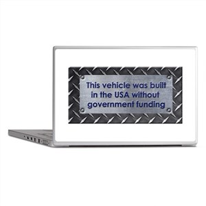 Built in the USA Laptop Skins