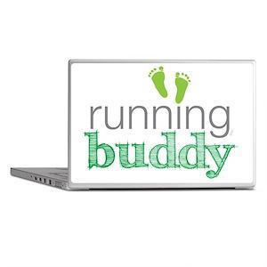 running buddy babyG Laptop Skins