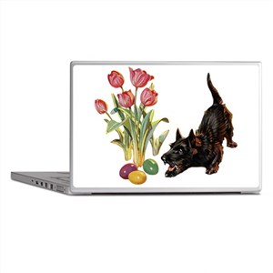 EASTER SCOTTIE Laptop Skins