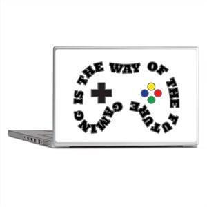 Future Gaming Laptop Skins