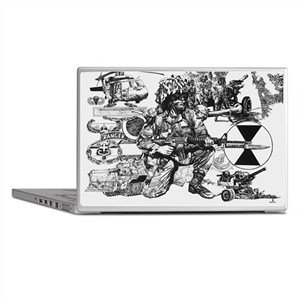 Small Lightfighter Poster Laptop Skins