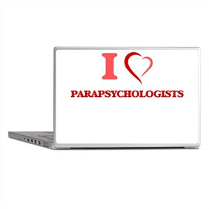 I love Parapsychologists Laptop Skins