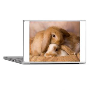 Cuddle Bunnies Laptop Skins