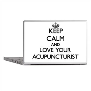 Keep Calm and Love your Acupuncturist Laptop Skins